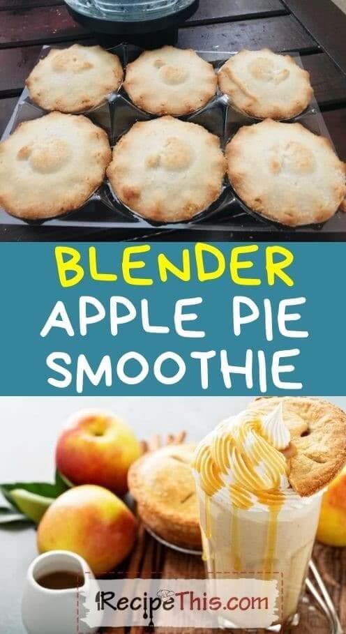 blender apple pie smoothie at recipethis.com