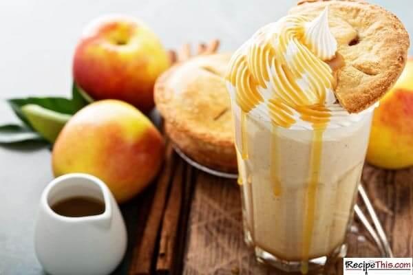 blender apple pie smoothie