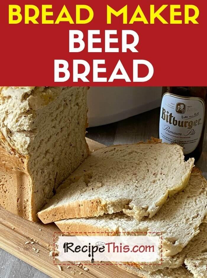 bread machine beer bread