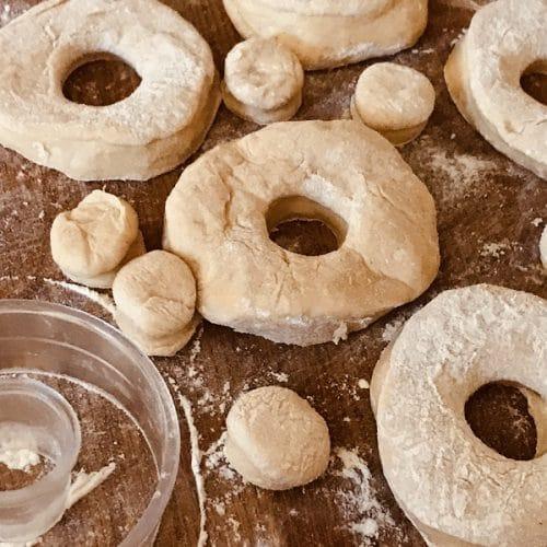 bread machine doughnut dough