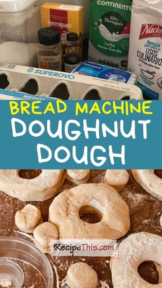 bread machine doughnut dough at recipethis.com