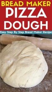 bread maker pizza dough recipe