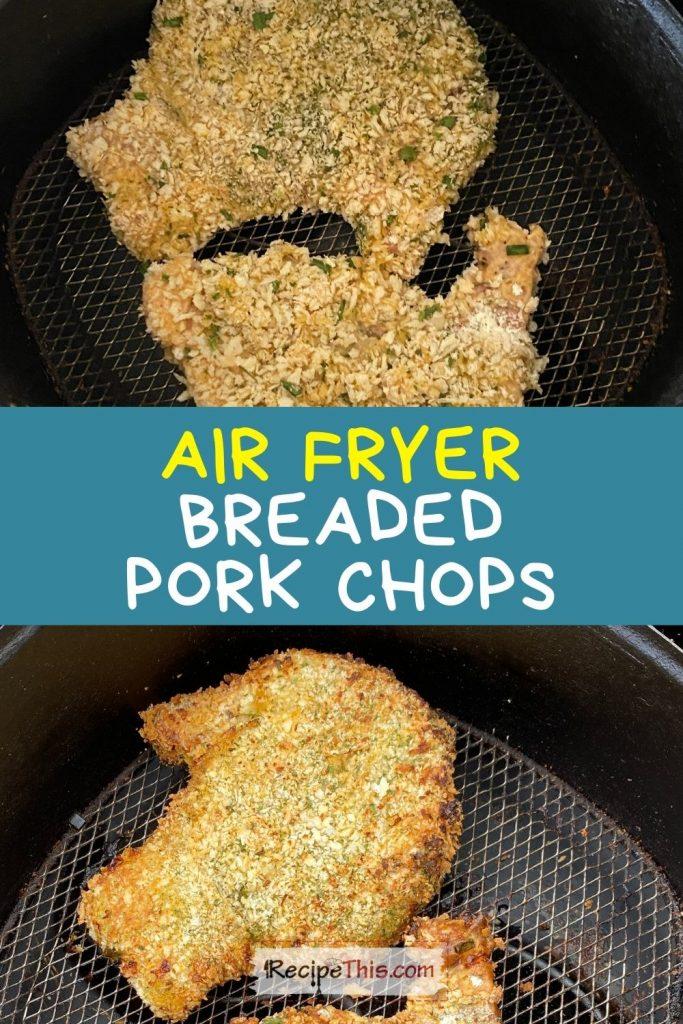 breaded pork chops in air fryer