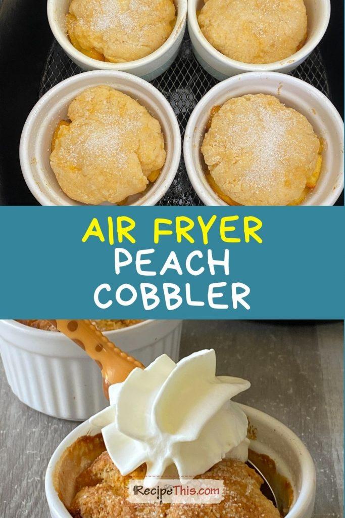 cobbler in air fryer