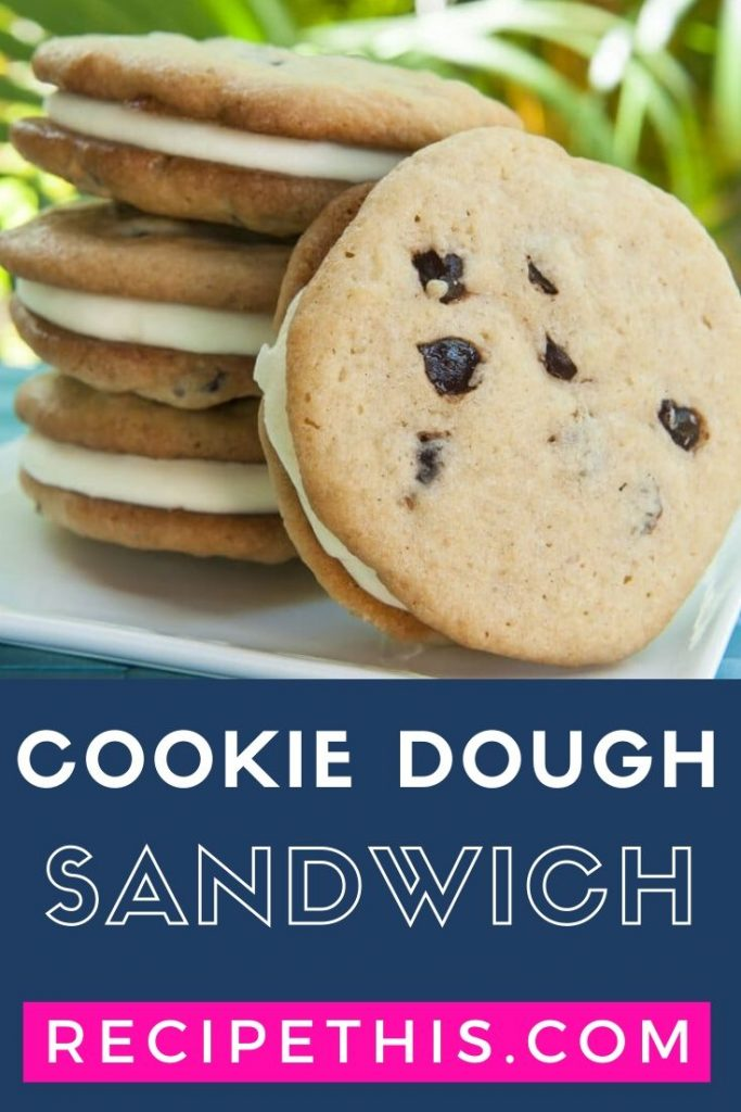 cookie dough sandwich at recipethis.com