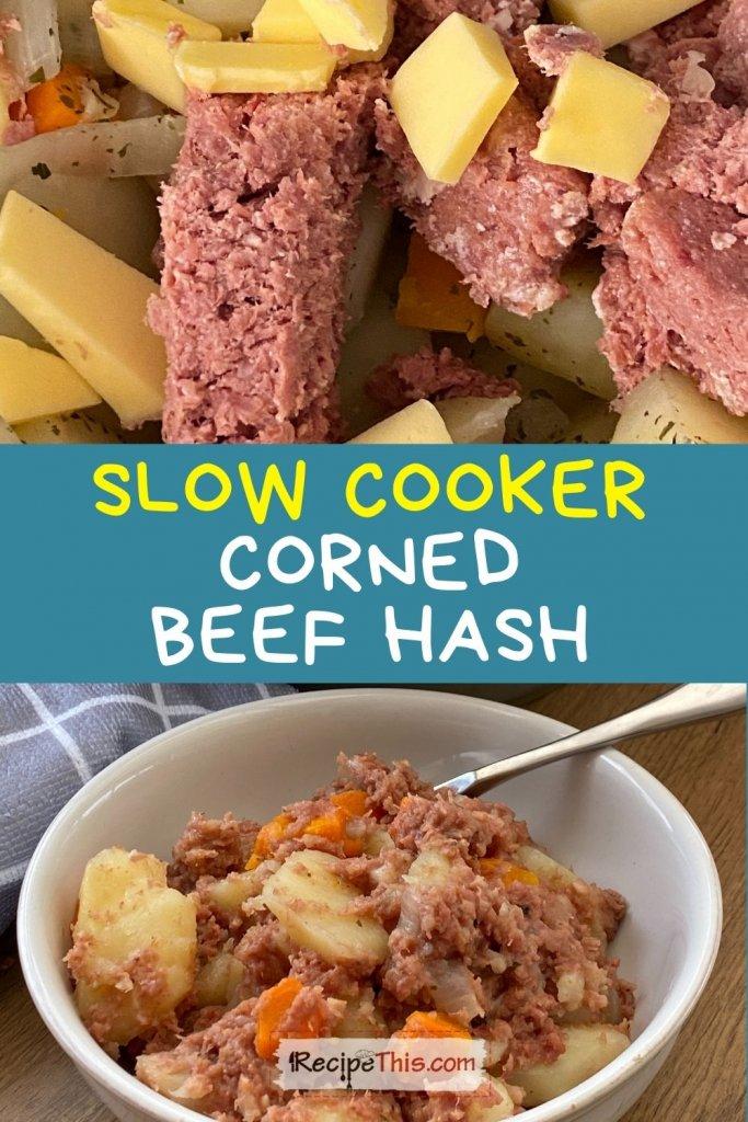 corned beef hash slow cooker