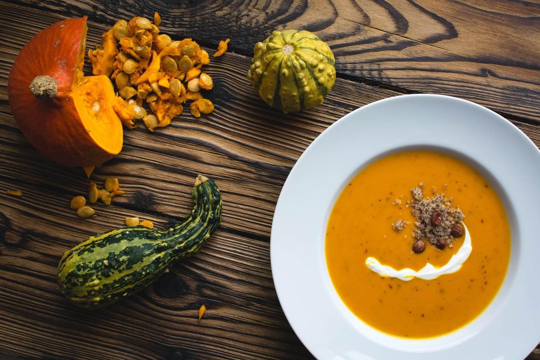 """My Soup Maker Creamy Pumpkin & Garlic Soup"""