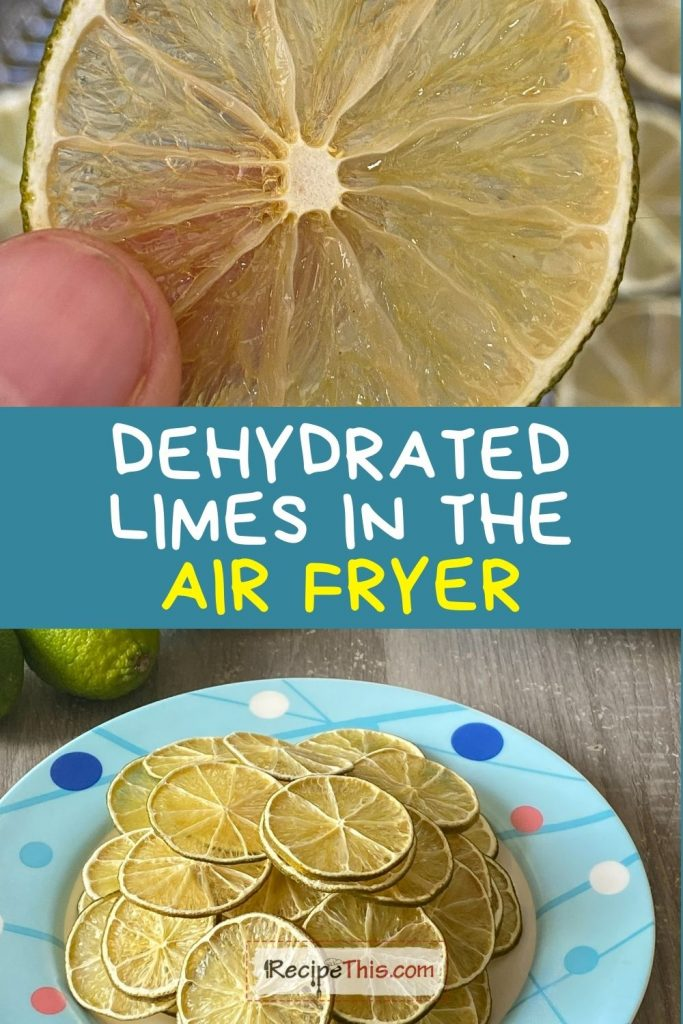dehydrating limes