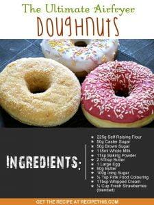 """iced doughnuts"""