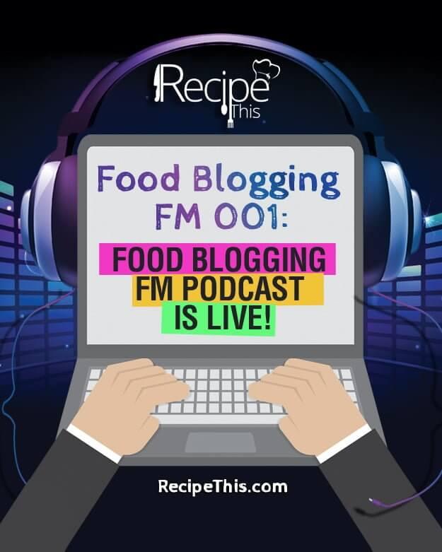 """""""food blogging podcast"""""""