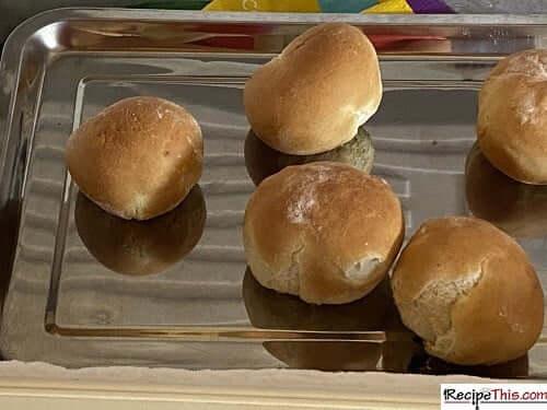freezing bread rolls