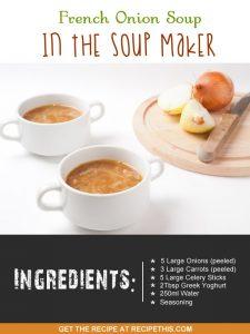 """french onion soup maker recipe"""