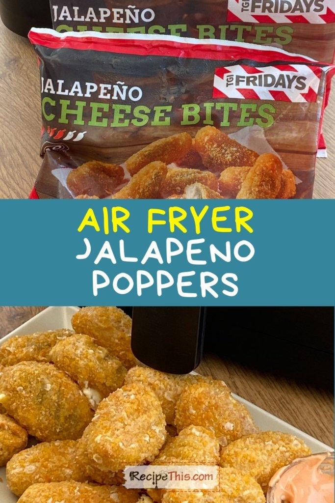 frozen jalapeno poppers air fryer