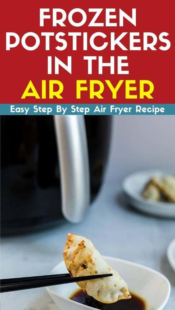 frozen potstickers in the air fryer recipe