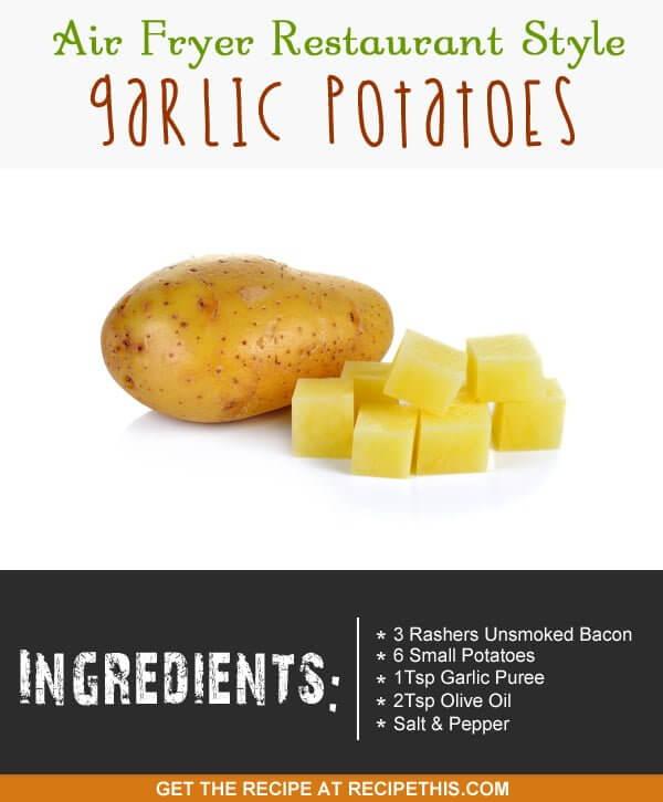 """potatoes ready to made into garlic potatoes"""