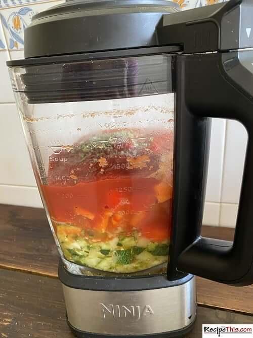 half full soup maker