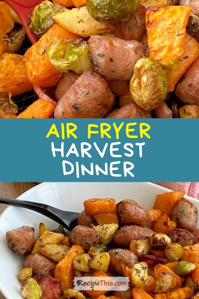 harvest dinner air fryer