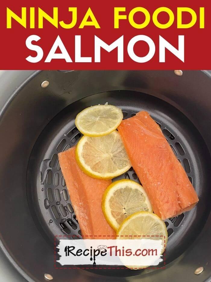 how to cook ninja foodi salmon