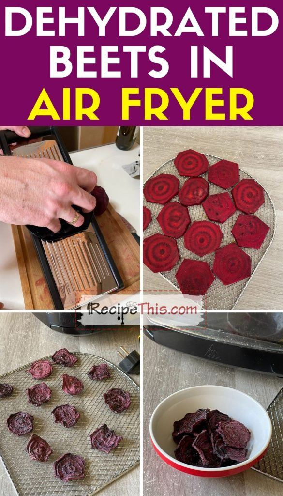 how to dehydrate beets
