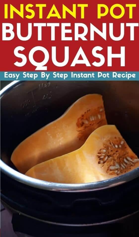 instant pot butternut squash recipe