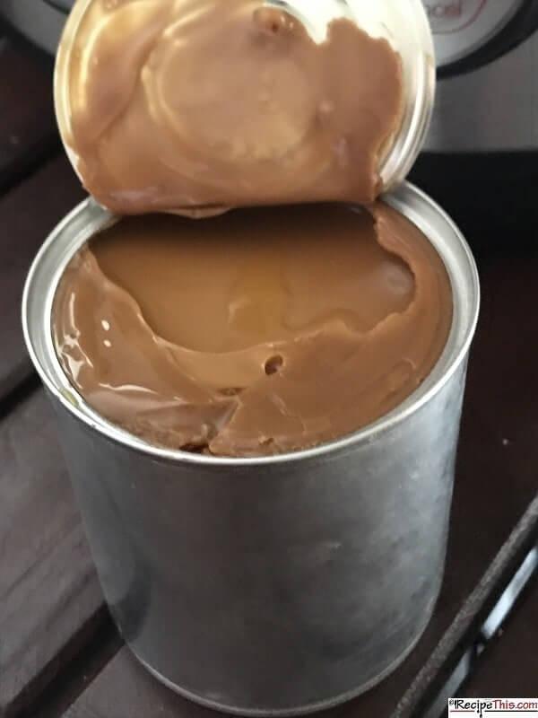 instant pot condensed milk to caramel