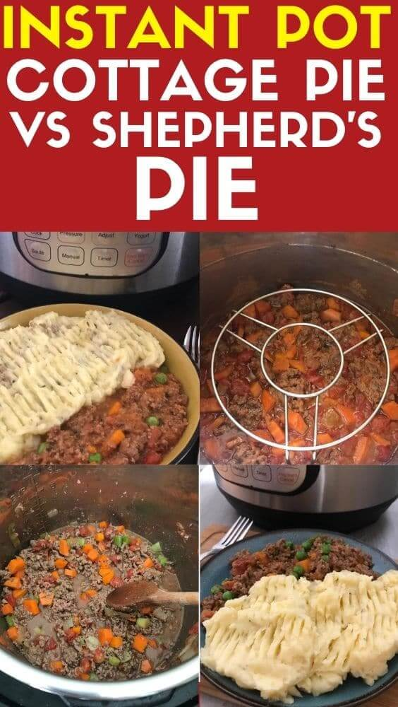 instant pot cottage pie vs shepherds pie