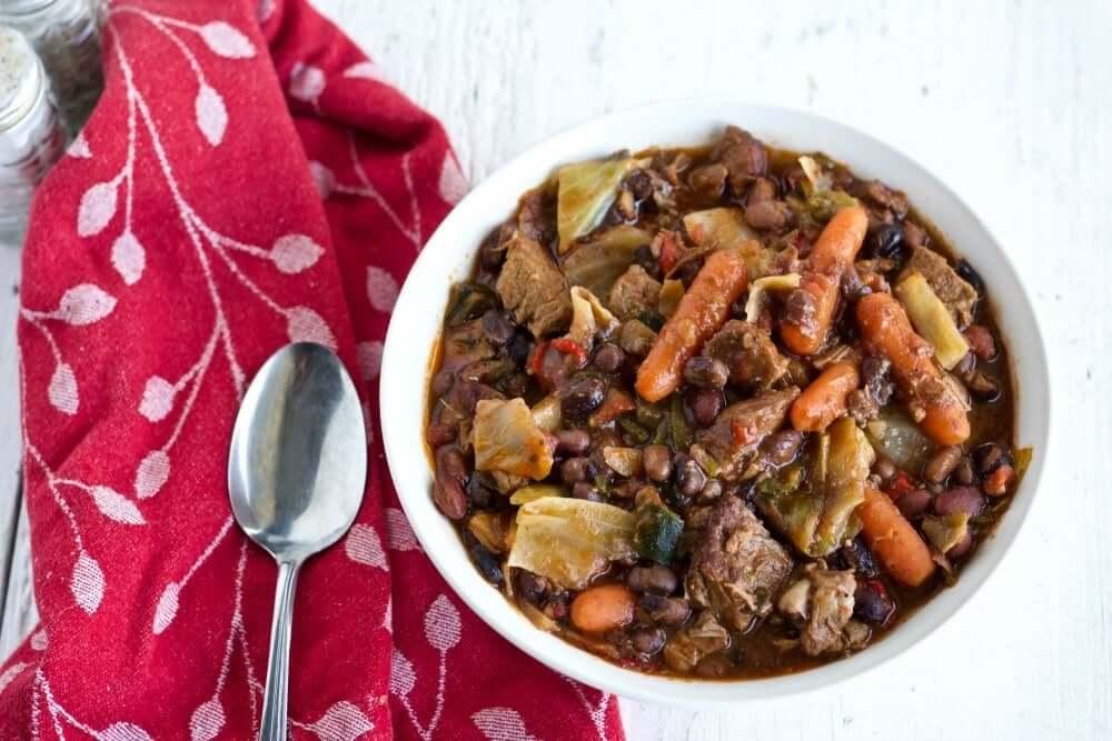 Instant Pot   instant pot four bean beef stew