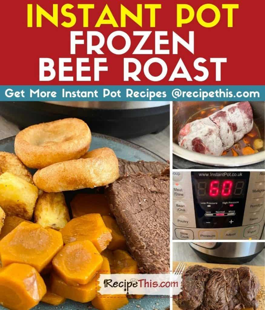 instant pot frozen beef roast step by step