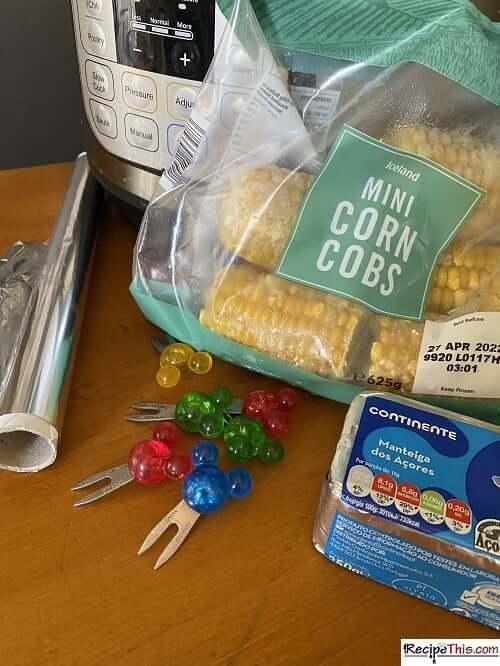 instant pot frozen corn on the cob ingredients