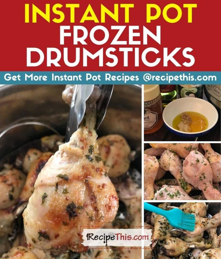 instant pot frozen drumsticks step by step