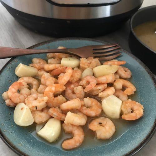 instant pot frozen shrimp