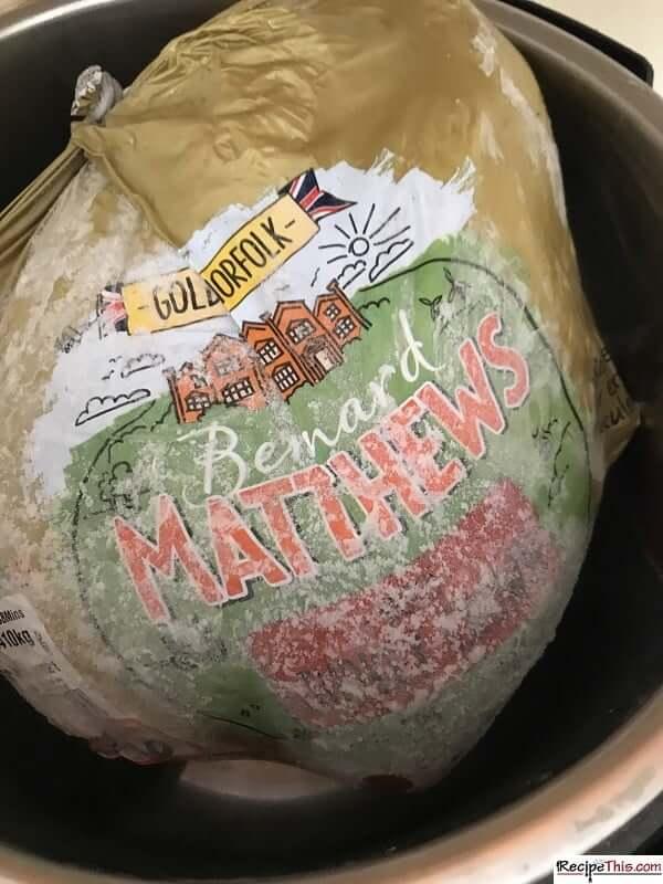 instant pot frozen turkey breast will it fit