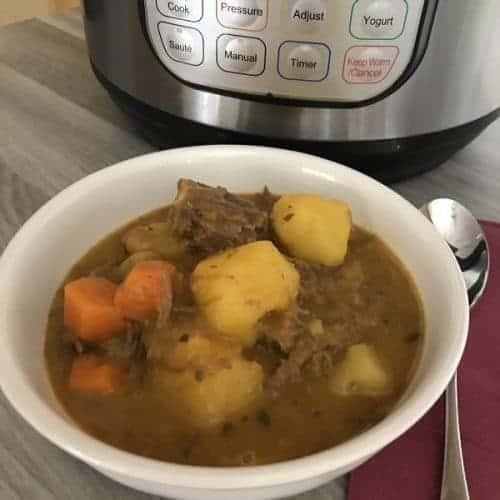 instant pot leftover pot roast soup