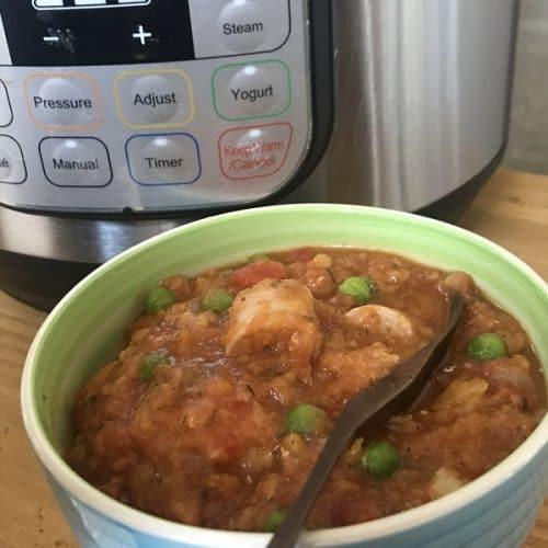 instant pot sausage and lentil casserole