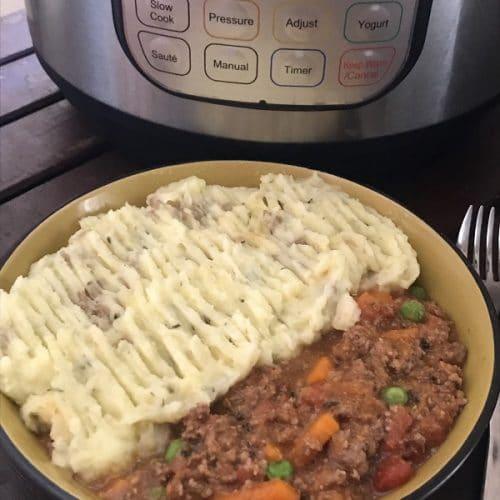 instant pot shepherds pie