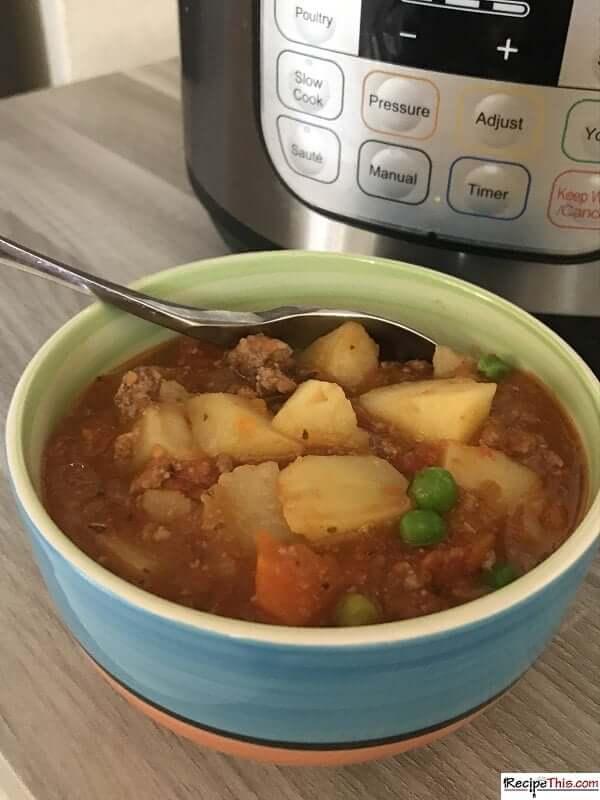 instant pot shepherds pie soup
