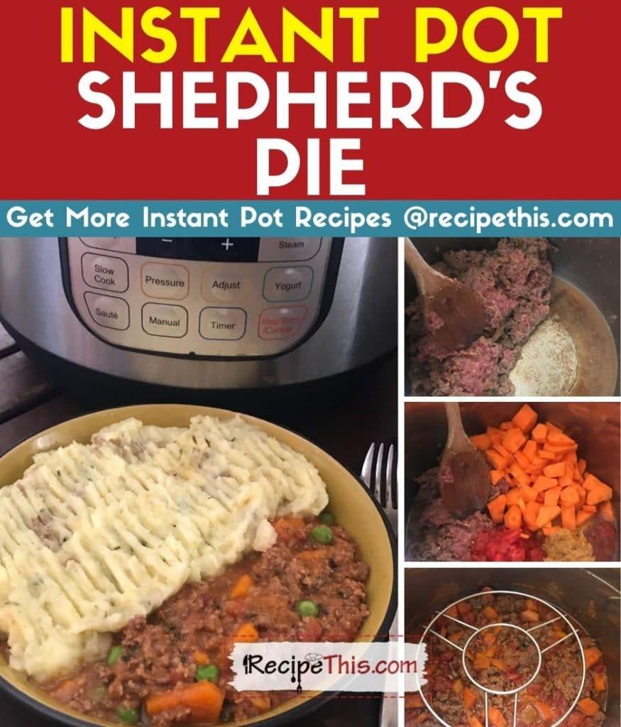 instant pot shepherds pie step by step