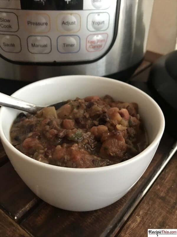 instant pot tuscan bean stew