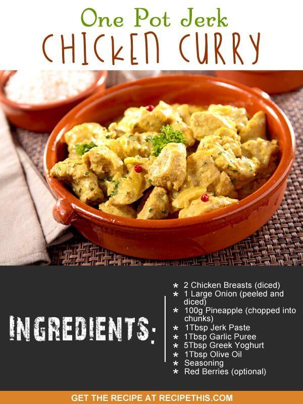"""chicken curry recipe"""