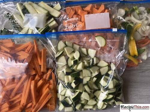 meal prep sweet potato cubes