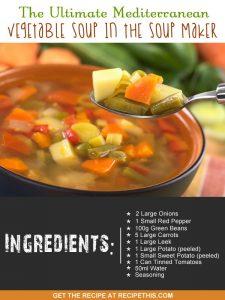 """mediterranean soup maker recipe"""