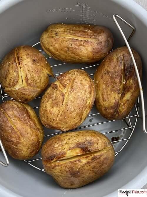 ninja foodi baked potato