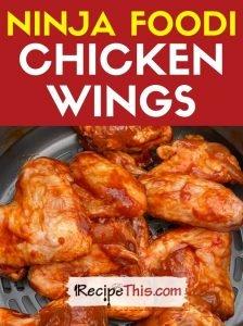 ninja foodi chicken wings at recipethis.com