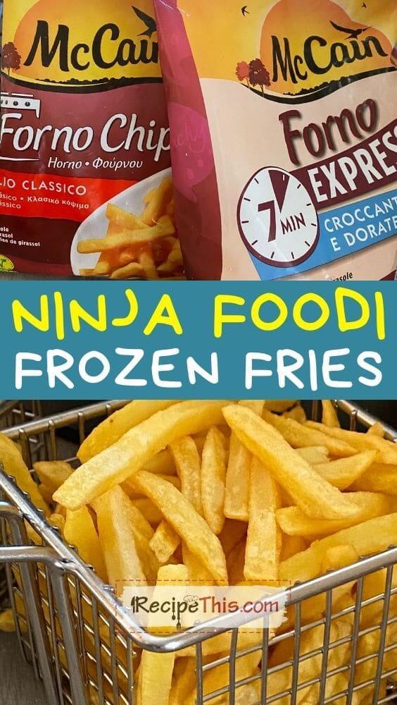 ninja foodi frozen fries at recipethis.com