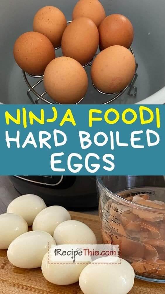 ninja foodi hard boiled eggs recipe