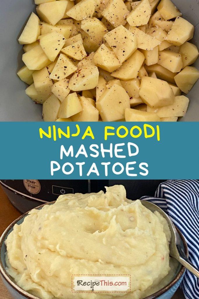 ninja foodi mashed potatoes recipe