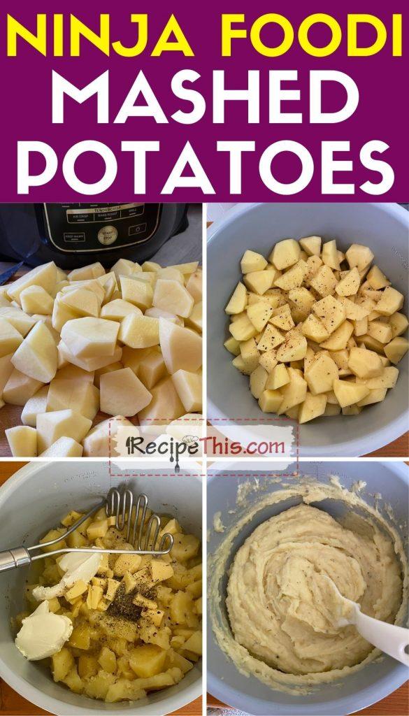 ninja foodi mashed potatoes step by step