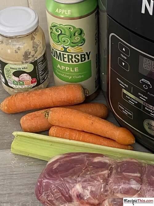 ninja foodi pork tenderloin recipe