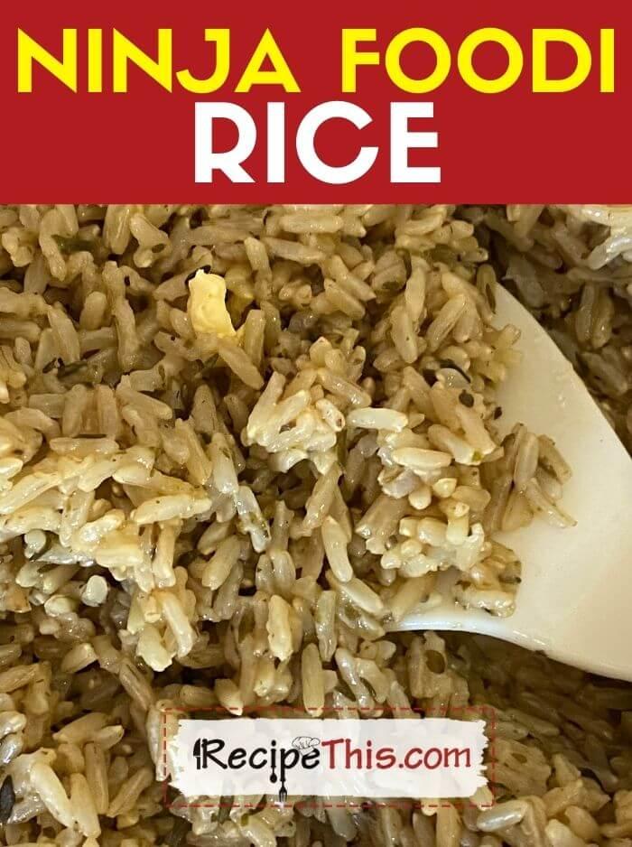 ninja foodi rice at recipethis.com