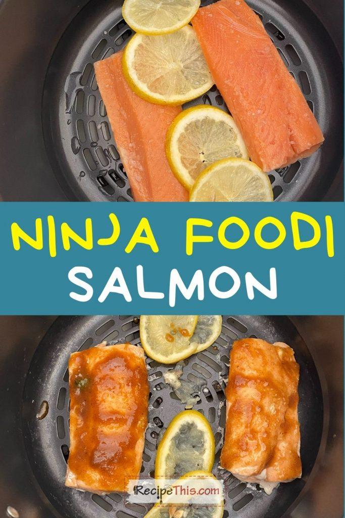 ninja foodi salmon recipe